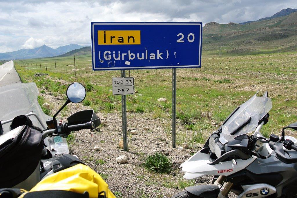 KURDISTAN, frontière Iranienne