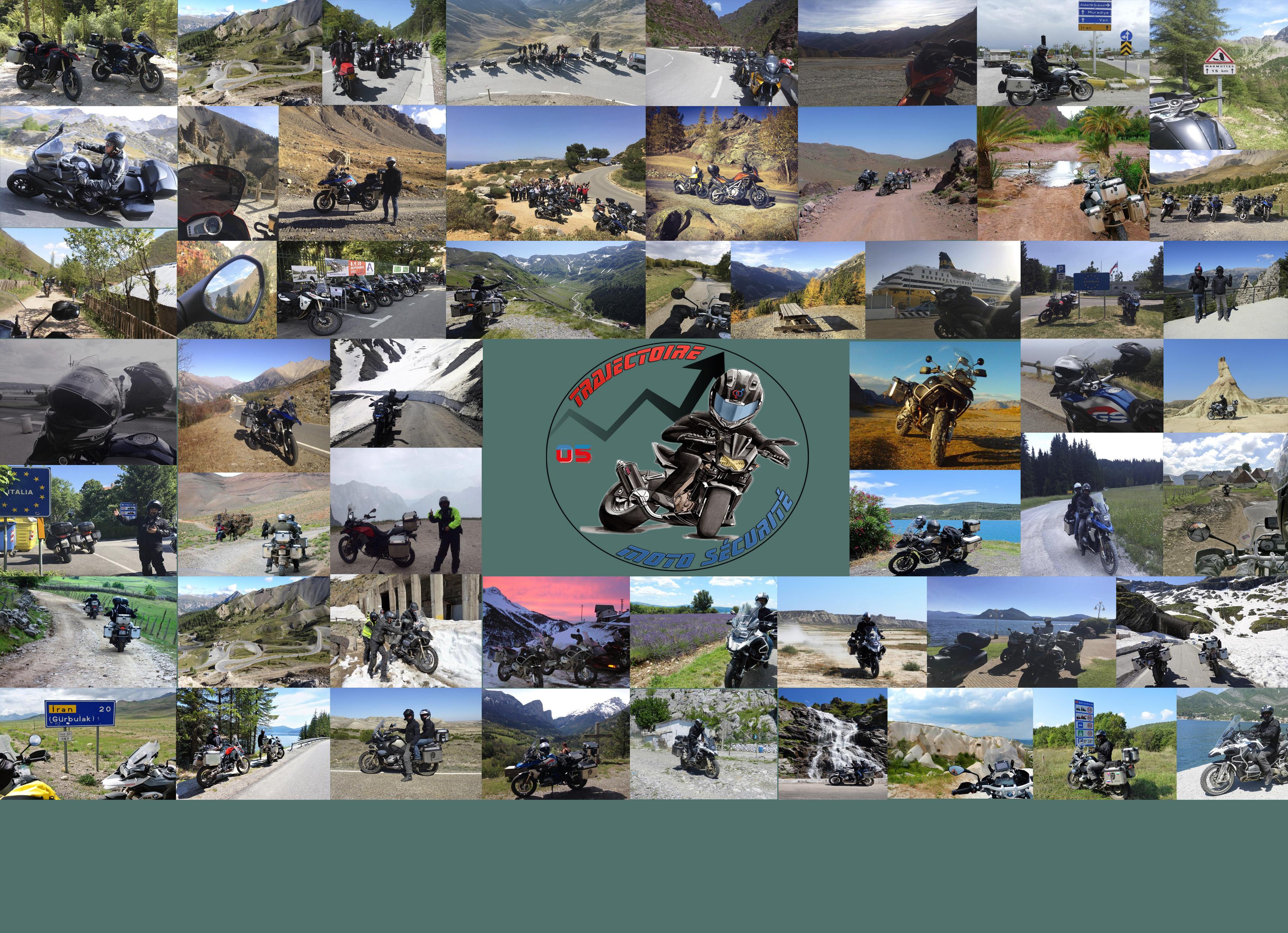 Encadrements, stages de perfectionnement, accompagnements et organisations de sorties par des motards professionnels