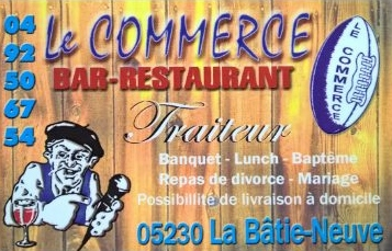 Bar restaurant le commerce