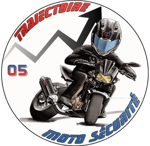 trajectoire moto sécurité